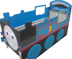 Custom Products -  Thomas the Tank Engine Bed