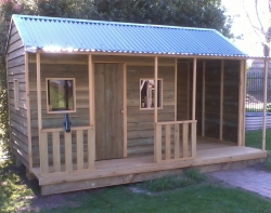 -  Cottage Cubby House with Carport