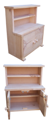 Cubby/Home Corner -  Wooden Kitchen Dresser