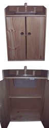 Cubby/Home Corner -  Wooden Kitchen Sink