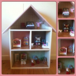 Doll Houses -  Basic Doll House with artistic design
